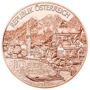 10 euros Haute-Autriche (cuivre) -  avers