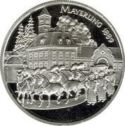 100 Schilling (Rudolf - Mayerling) -  revers