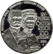 100 Schilling (Franz Ferdinand & Sophie) -  avers
