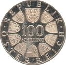 100 schilling Innsbruck – revers