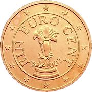1 cent d'euro -  avers