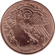 10 euros Archange St Michel (cuivre) -  revers