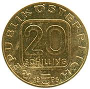 20 schilling Bruckner -  avers