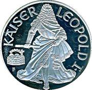100 schilling Leopold I -  revers