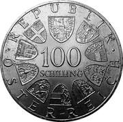 100 schilling Bregenz -  revers
