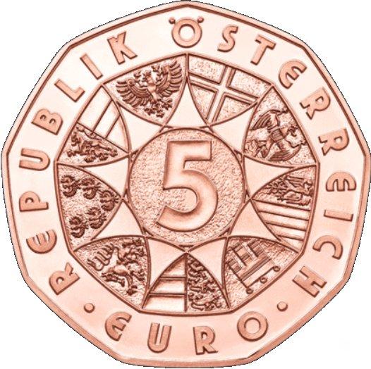5 Euros Nouvelle Année 2018 Cuivre Autriche Numista