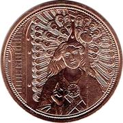 10 euros Archange Raphaël (cuivre) – revers