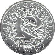 10 euros Archange Raphaël (argent, non coloré) – avers