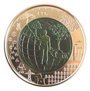 25 euros Anthropocène – revers
