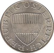 10 schilling (argent) – avers