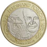 50 schilling Ferdinand Porsche -  revers