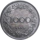 1000 kronen – revers