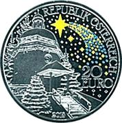 20 Euro (200 years Silent Night) -  avers