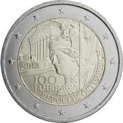 2 euros République d'Autriche -  avers