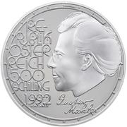 500 Schilling (Gustav Mahler) -  avers