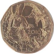 5 euros Réveil du printemps (cuivre) -  revers