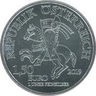 1,50 euros Wiener Neustadt – avers