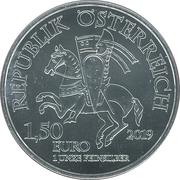 1,50 euros Wiener Neustadt -  avers