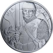 1½ euros Léopold V d'Autriche – revers