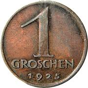 1 groschen – revers
