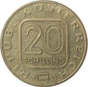 20 schilling Tyrol -  avers