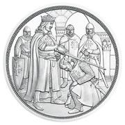 10 euros Godefroy de Bouillon (argent) -  revers