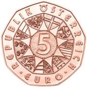 5 euros Nouvelle année 2020 (cuivre) -  avers