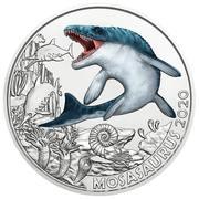 3 euros Lézard de la Meuse – revers
