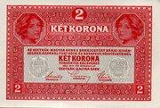 2 krone – revers