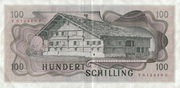 100 Schilling – revers