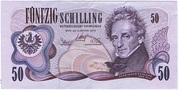 50 Schilling – avers