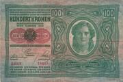 100 Kronen – avers