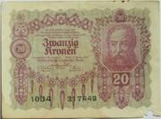 20 Kronen – avers