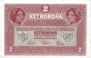 2 Kronen – revers