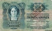 20 Kronen (1st edition) – avers