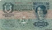 20 Kronen (1st edition) – revers