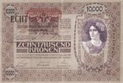 10000 Kronen -  avers