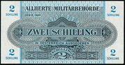 2 Schilling (Allied Military Authority) -  avers