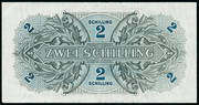 2 Schilling (Allied Military Authority) -  revers