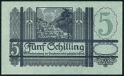 5 Schilling -  revers