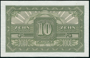 10 Schilling (Allied Military Authority) -  revers