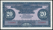 20 Schilling (Allied Military Authority) -  avers
