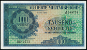 1000 Schilling (Allied Military Authority) -  avers