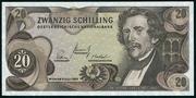 20 schilling -  avers