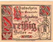 30 Heller (Dorfgastein) – avers