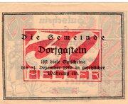30 Heller (Dorfgastein) – revers