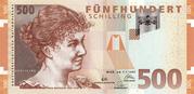500 Schilling -  avers