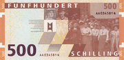 500 Schilling -  revers
