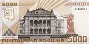 5000 Schilling -  revers