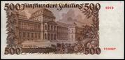500 Schilling – revers